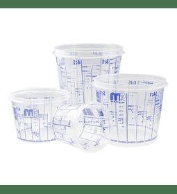 Vaso de mezcla 385 ml color Transparente