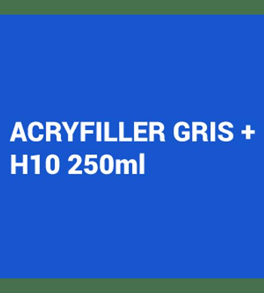 Kit Primer 4:1 Acryfiller gris 1L + Catalizador Rapido H10 250ml