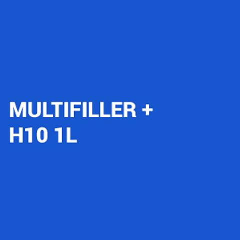 Kit Primer 4:1 Multifiller gris 4L + Catalizador Rápido H10 1L