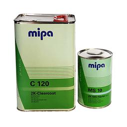 Kit Barniz 4:1 C 120 4L + Catalizador rápido MS 10 1/4GL