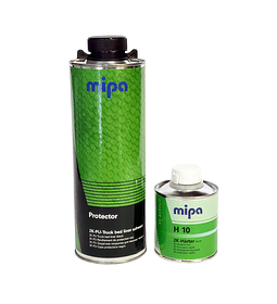 Kit Protector 3:1 Negro 750ml + Catalizador Rapido H10 250ml