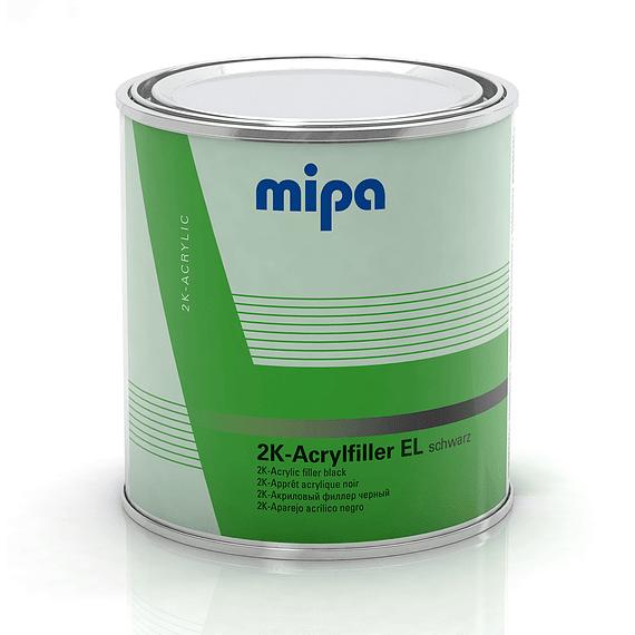 Acrylfiller 4 Lt color Negro