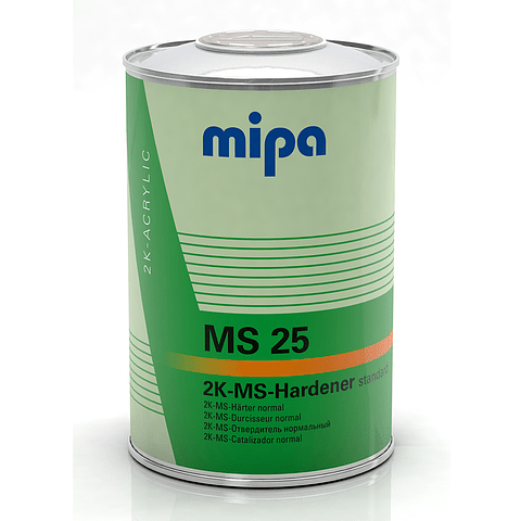 Catalizador MS25 0,95 Lt color Transparente
