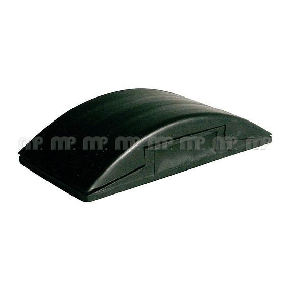 Taco de Goma color negro