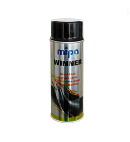 Winner Spray ACRYL-LACK Schwarz glänzend 0,4 Lt color Negro