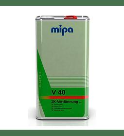 Diluyente V40 5 Lt color Transparente