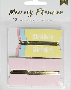 AC Memory Planner Tabs