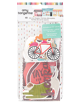 Amy Tangerine Ephemera Die Cuts