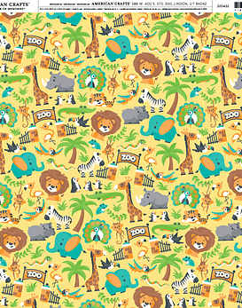 AC Cardstock Zoo Day