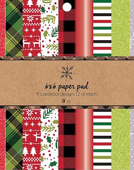 AC Christmas Paper Pad