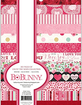 BoBunny Count the Ways Paper Pad