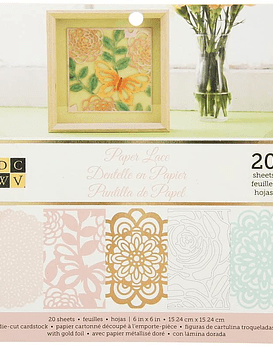 DCWV Paper Pad Lace