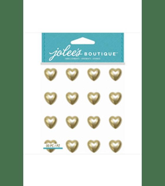 Jolees Boutique Pearl Heart Gems