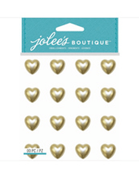 Jolees Boutique Pearl Heart Gems