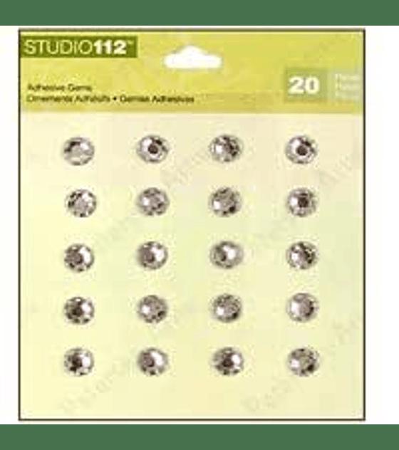 Studio 112 piedritas adhesivas