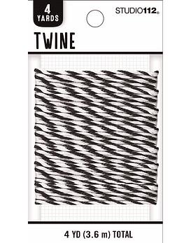 Studio 112 hilo tonos blanco/negro