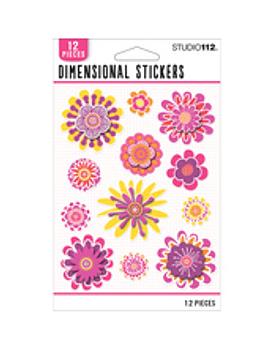 Studio 112 Stickers dimensionales