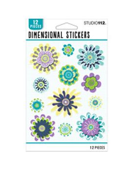 Studio 112 Stickers dimensionales tonos frios