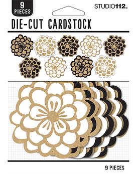 Studio 112 die-cuts flores
