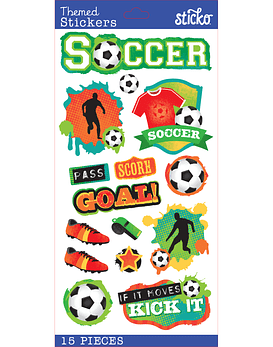 Sticko Soccer Stickers