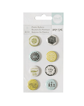 WeR High Five Plastic Buttons