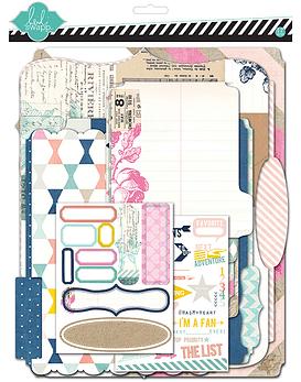Heidi Swapp Memory Scrapbook Kit