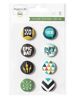 Project Life Explore Badges