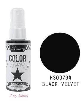 Heidi Swapp Color Shine Tinta en Spray Black Velvet