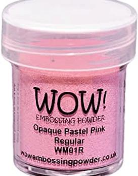 Wow polvos de embossing Opaque Pastel Pink