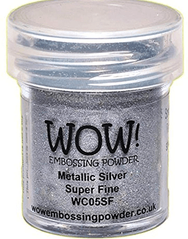 Wow polvos de embossing Metallic Silver
