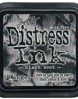 Ranger Distress Ink Black Soot