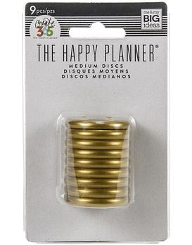 The Happy Planner Discos de 3,175cm