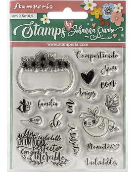 Stamperia timbres en Español