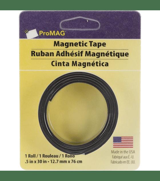 Promag cinta magnetica adhesiva