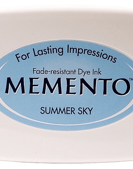 Memento almohadilla de tinta Summer Sky