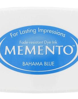 Memento almohadilla de tinta Bahama Blue