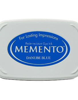 Memento almohadilla de tinta Danube Blue