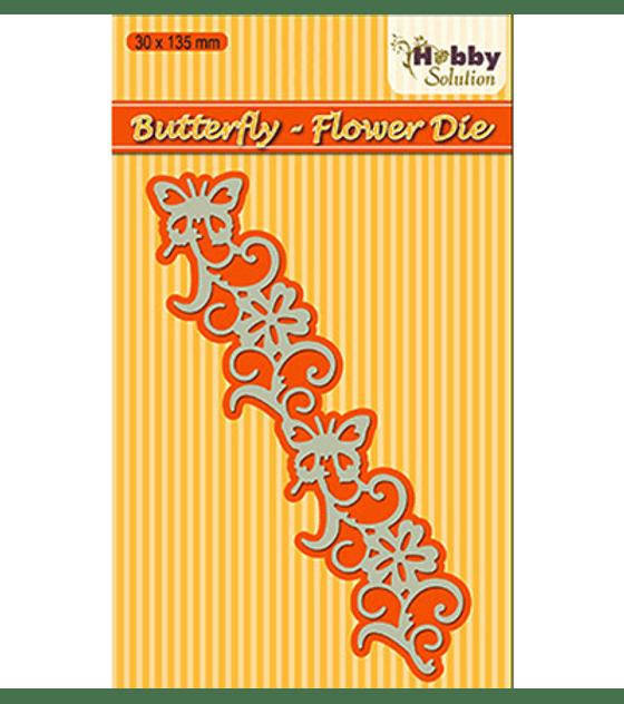Hobby Solution Butterfly Flower Die