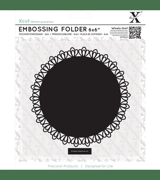 XCut texturizador Filigree Circle