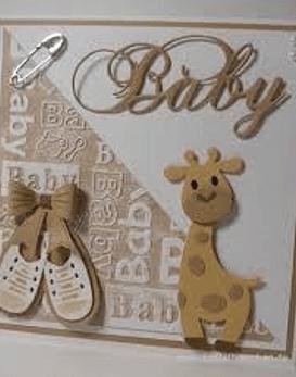 Embossing Folder Baby