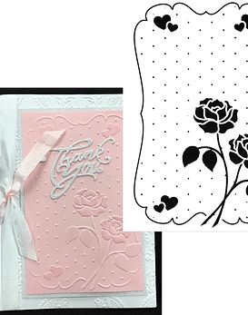 Embossing Folder Love