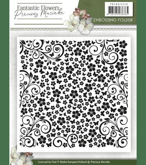 Embossing Folder Fantastic Flowers