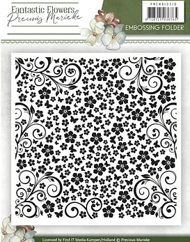 Embossing Folder Fantastic Flowers