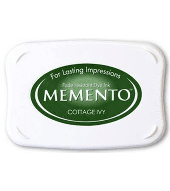 Memento almohadilla de tinta Cottage Ivy