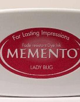 Memento almohadilla de tinta Lady Bug