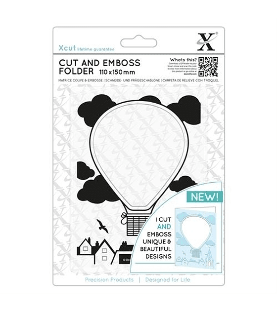 XCut Cut and Emboss Air Balloon
