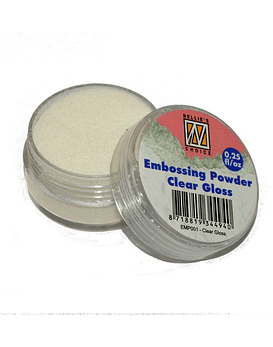 Polvo de embossing Clear Gloss
