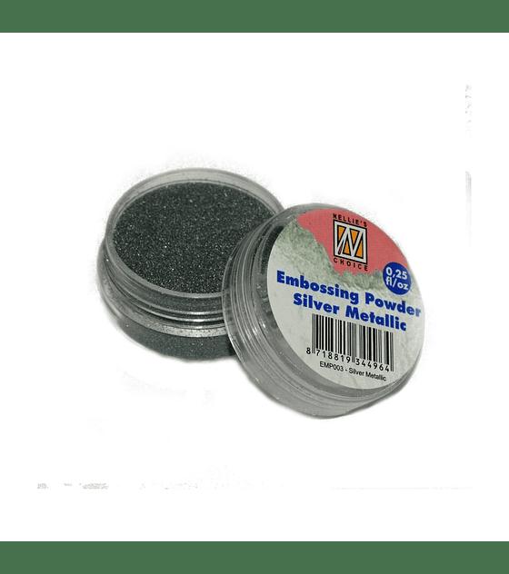 Polvo de embossing Silver Metallic