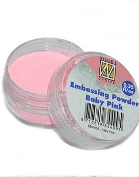 Polvo de embossing Baby Pink