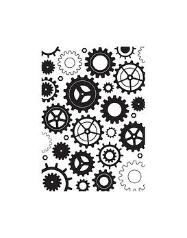 Hobby Solution Embossing Folder Cogwheels